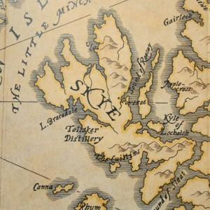 スカイ島 地図 タリスカーの味