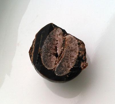 チョコレート断面