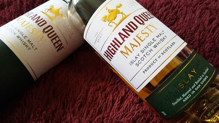 ハイランドクイーンマジェスティアイラシングルモルト 味 評価 おすすめ 飲み方