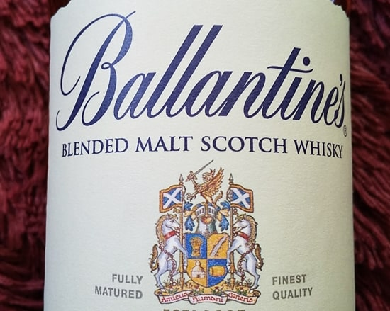 Ballantines Blended Malt12年,ラベル,評価,レビュー,飲み方,ピュアモルト,